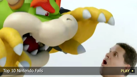 Top 10 Nintendo Fails