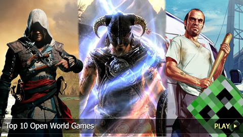 Top 10 Open World Games