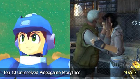 Top 10 Unresolved Videogame Storylines