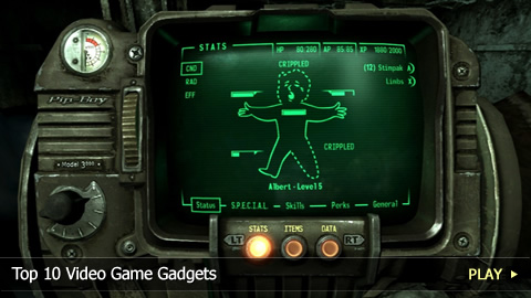 Top 10 Video Game Gadgets