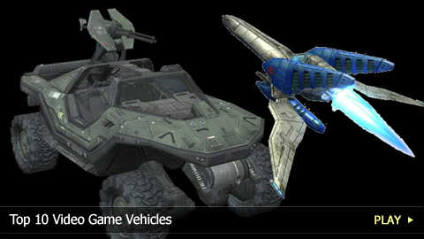 Top 10 Video Game Vehicles