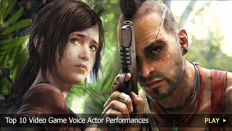 Top 10 Video Game Voice Actor Performances