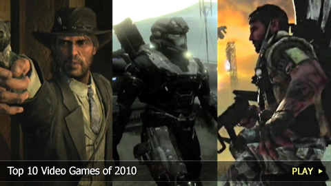 Top 10 Video Games of 2010 | WatchMojo com