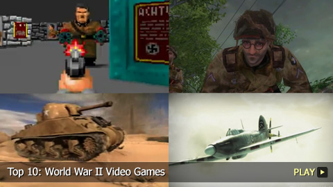 Top 10: World War II Video Games