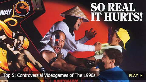 Top 5: Controversial Videogames of The 1990s