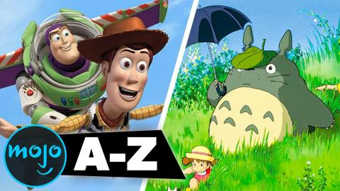 The Best Animated Movies of All Time from A to Z