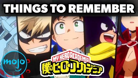Top 5 Things To Remember Before My Hero Academia Season 5