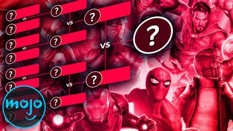The Ultimate Superhero Bracket: Marvel | Part 1