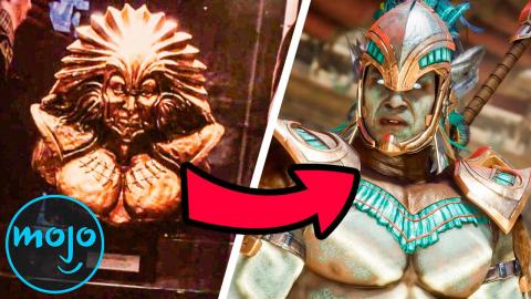 Top 10 Callbacks and Easter Eggs in Mortal Kombat (2021)
