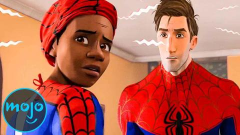 Top 10 Spider Man: Into the Spider-Verse Moments