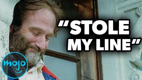 Top 10 Unscripted Robin Williams Moments That Were Left in the Movie