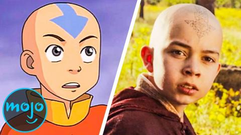 Top 10 Worst Changes in The Last Airbender Movie