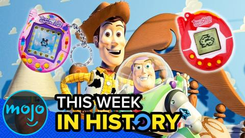 Toy Story and Tamagotchis! This Week in History: November 18-24