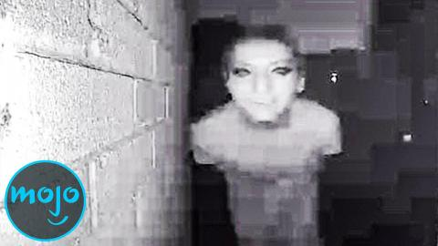 Top 10 Creepiest Unexplained Security Footage