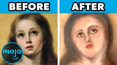 Top 10 Funniest Botched Art Restorations