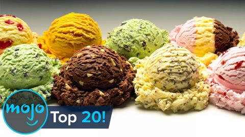 Top 20 Greatest Ice Cream Flavors of All Time