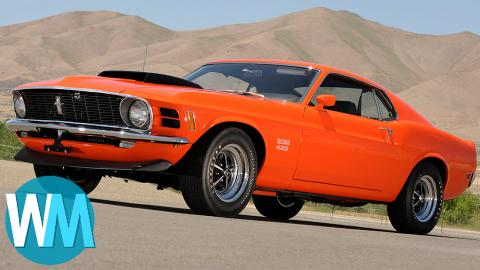 Top 5 Iconic Muscle Cars