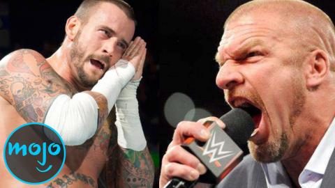 Top 10 Real Life Wrestling Feuds
