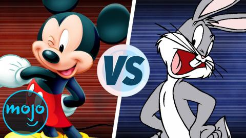 Mickey Mouse vs Bugs Bunny