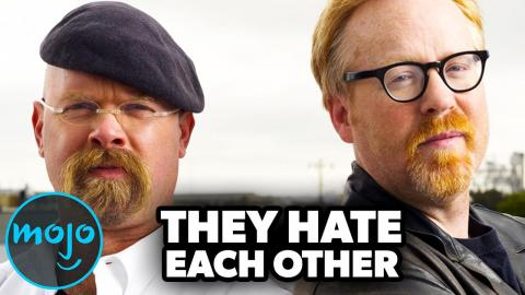 Top 10 Behind the Scenes Secrets From MythBusters