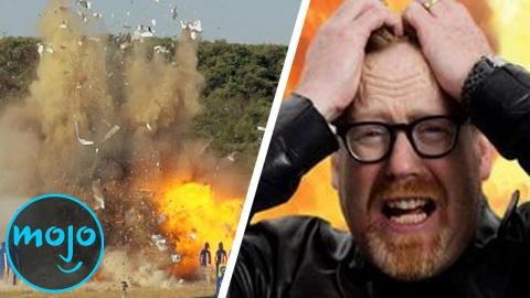 Top 10 Biggest Explosions on MythBusters