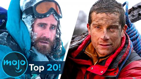 Top 20 Craziest Bear Grylls Celebrity Challenges