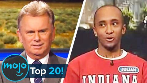 Top 20 Wheel of Fortune Puzzle Fails