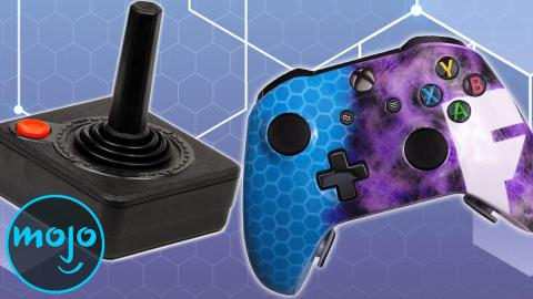 The Amazing Evolution Of Video Game Controllers