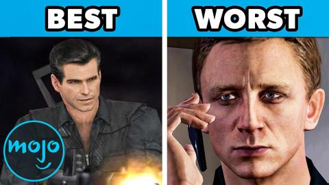 Top 10 Best and Worst James Bond Video Games