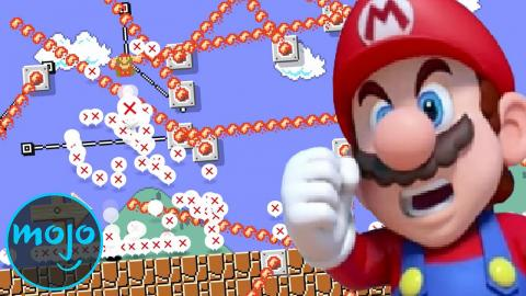 Top 10 Hard Super Mario Maker 2 Levels | WatchMojo com