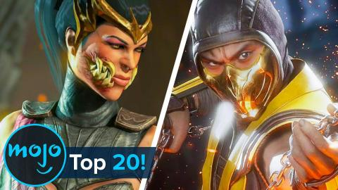 Top 20 Greatest Mortal Kombat Characters of All Time