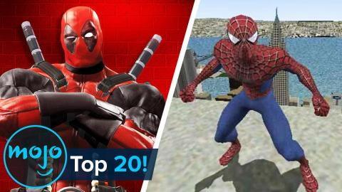 Top 20 Greatest Marvel Video Games Ever