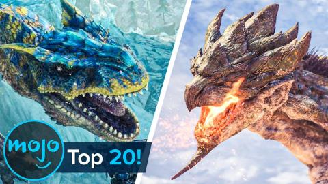 Top 20 Monster Hunter Monsters