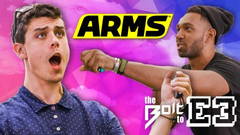 ARMS: Gamers vs. BOXERS - The Bolt to E3 part 3