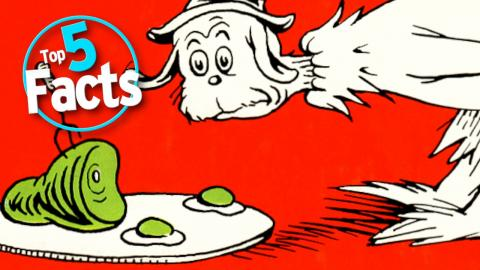 Top 5 Dr. Seuss Facts