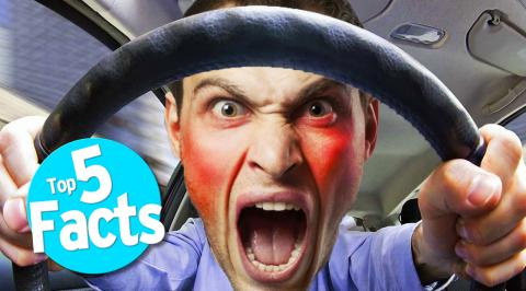 Top 5 Road Rage Facts