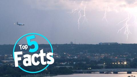 Top 5 Facts about Getting Hit By Lightning