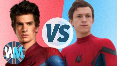 Tom Holland VERSUS Andrew Garfield