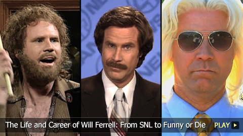 The Life and Career of Will Ferrell: From SNL to Funny or Die