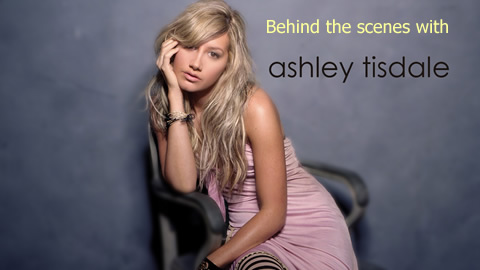 Sneak Peak at Ashley Tisdale's 1st Solo Recording