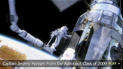 Captain Jeremy Hansen From the Astronaut Class of 2009