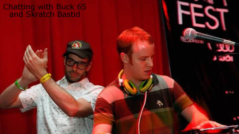 Interview with Skratch Bastid and Buck 65