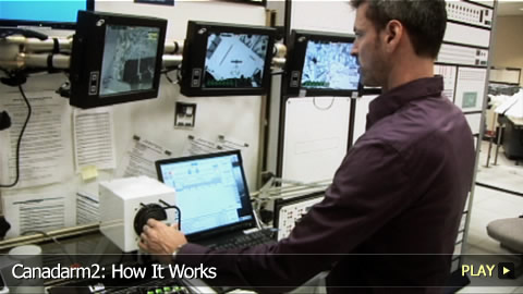 Canadarm2: How It Works
