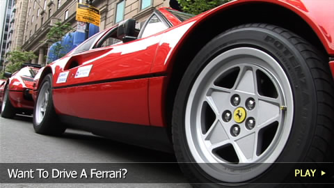 Want To Drive A Ferrari?
