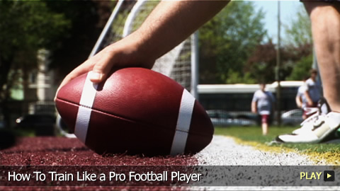 How To Train Like a Pro Football Player