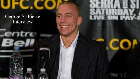 george st pierre