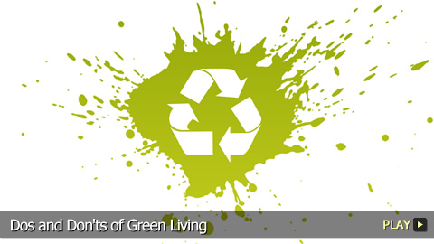 Dos and Don'ts of Green Living