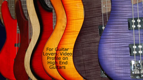 High-end Guitars, Amplifiers and Accessories