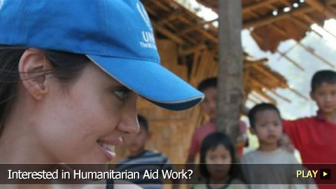 Interested in Humanitarian Aid Work?
