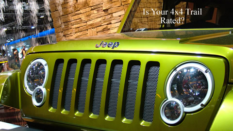 Jeep 4x4 Trail Rated Challenge